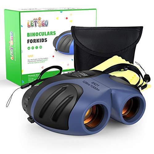 SOKY Fernglas Kinder Geschenke für Jungen, Mini Fernglas für 3-8 jährige Kinder Spielzeug für Mädchen 3 4...