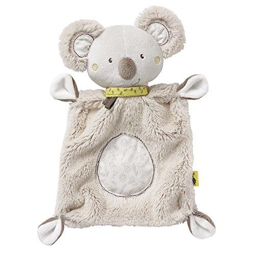 Fehn 064056 Schmusetuch Koala – Schnuffeltuch mit Koala-Köpfchen – Zum Kuscheln für Babys und...