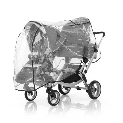 ABC Design Regenschutz für Geschwisterwagen Zoom