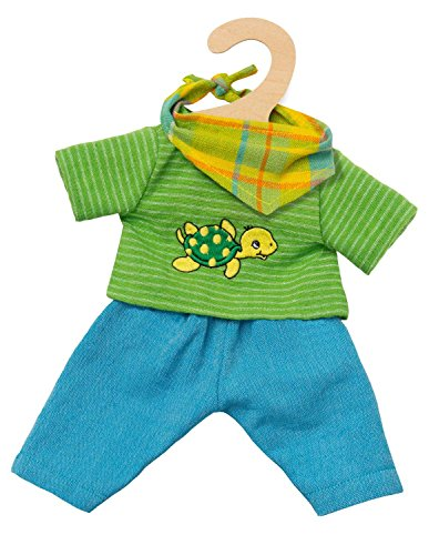 Heless 2721 Fair Trade Puppenoutfit Max, Größe 35 - 45 cm