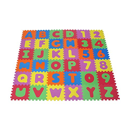 Knorrtoys 21004 - Puzzlematte 86-tlg. – Spielmatte Kinderspielteppich Spielteppich Schaumstoffmatte Matte...