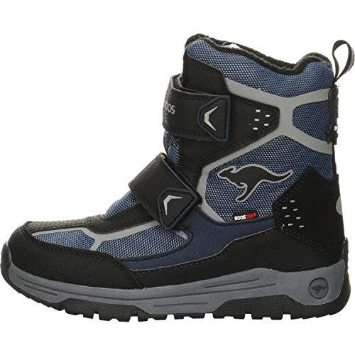 KangaROOS K-Trooper V RTX Unisex-Kinder Stiefel, Blau (Dark Navy/Vapor Grey 4075), 33 EU