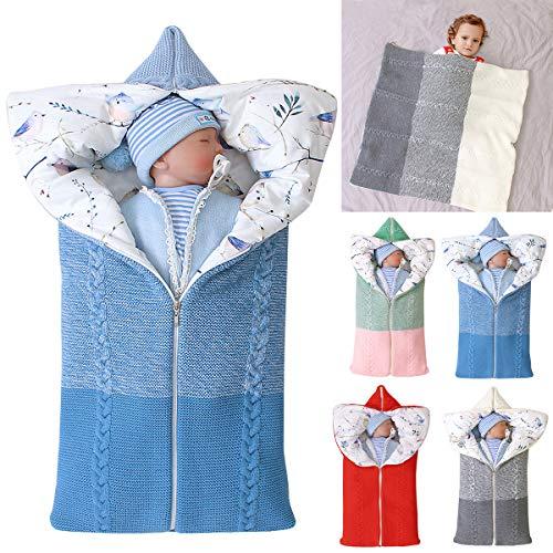 Yinuoday Kinderwagen Decke, Neugeborenen Wickeldecke Winter warme Schlafsack für 0-12 Monate Baby Jungen oder...