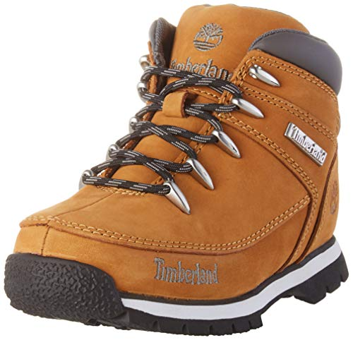 Timberland Unisex-Kinder Euro Sprint Chukka Boots, Gelb (Wheat Nubuck), 39 EU