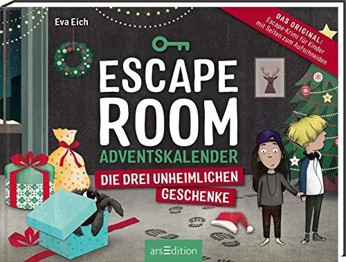 Escape Room. Die drei unheimlichen Geschenke. Ein Gamebuch-Adventskalender für Kinder: Das Original: Ein...