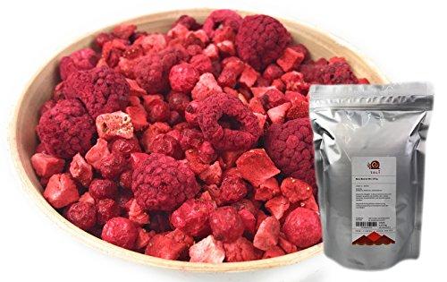 TALI Rote Beeren Mix 175 g - Gefriergetrocknete Erdbeeren, Himbeeren, Johannisbeeren