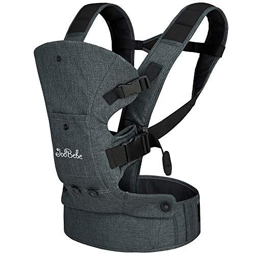 JooBebe Babytrage Ergonomisch/Babytrage Neugeborene/Baby Carrier/Bauchtrage Ergonomisch 360 for All Seasons...