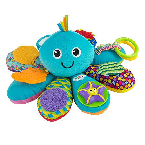 Lamaze LC27206 Babyspielzeug Octivity-Spielkrake mehrfarbig, hochwertiges Kleinkindspielzeug, vereint...