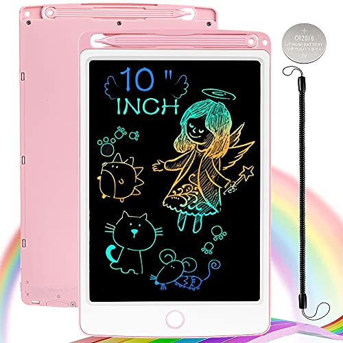 NOBES LCD Schreibtafel Maltafel Zaubertafel, 10 Zoll Bunte Writing Tablet Zaubermaltafel Malbrett Stift...