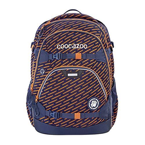 """coocazoo Schulrucksack ScaleRale """"FreakaSneaka Orange Blue"""", blau, ergonomischer Tornister,..."""