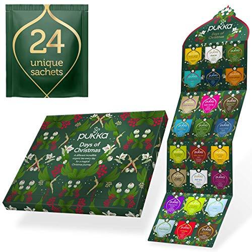 Pukka Herbs Tee Adventskalender 2020 ohne Schokolade Adventskalender der perfekte Adventskalender für...