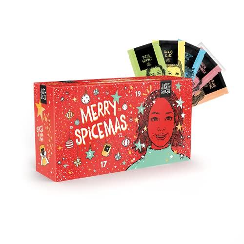 Just Spices Kleiner Gewürz Adventskalender 2021 I Weihnachtskalender mit 24 Gewürzmischungen + Rezepten I...