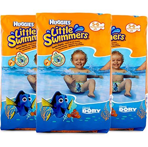 Huggies Little Swimmers Schwimmwindeln, Gr.5/6, 1er Pack (1 x 11 Windeln)