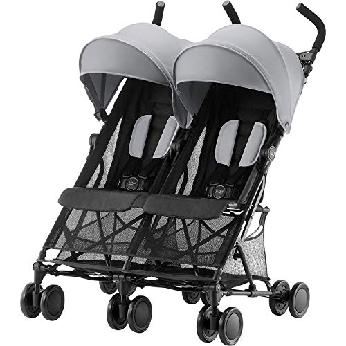 Britax Römer Buggy 6 Monate - 3 Jahre I bis 15 kg I HOLIDAY 2 I Steel Grey