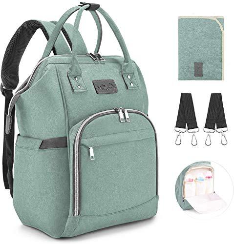 Viedouce Baby Wickelrucksack Wickeltasche Babytasche,Wasserdicht Oxford Große Kapazität für...