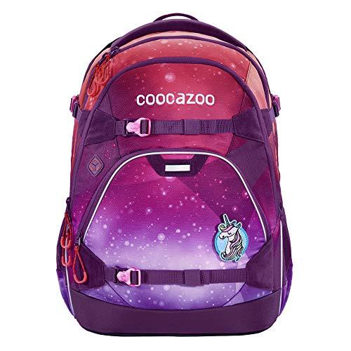 "coocazoo Schulrucksack ScaleRale ""OceanEmotion Galaxy Pink"", lila, ergonomischer Tornister,..."