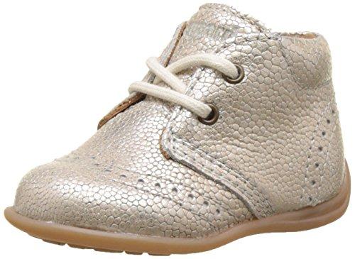 Bisgaard Baby-Mädchen Lauflernschuhe Sneaker, Silber (01 Silver), 24 EU