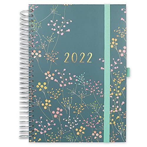 Boxclever Press Familienplaner Kalender 2021 2022 A5. 16-monatiger Schülerkalender 2021 2022 von Mitte...