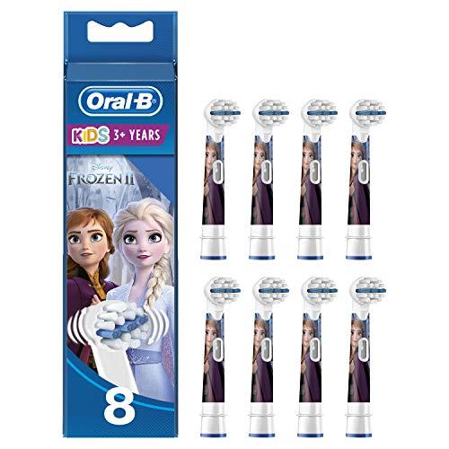 Oral-B Kids Disney Frozen 2 Aufsteckbürsten für Kinder ab 3 Jahren, in briefkastenfähiger Verpackung, 8...