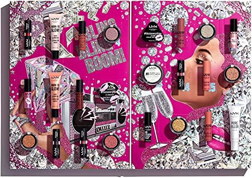 NYX Professional Makeup Diamonds and Ice Please Makeup Set, 24-teilig, Vielseitiges Makeup für Augen, Lippen...