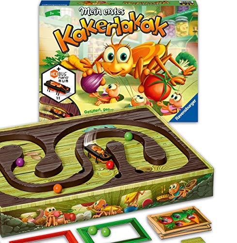 Ravensburger - 20548 - Mein erstes Kakerlakak - Aktionspiel mit elektronischer Kakerlake für die Kleinen,...