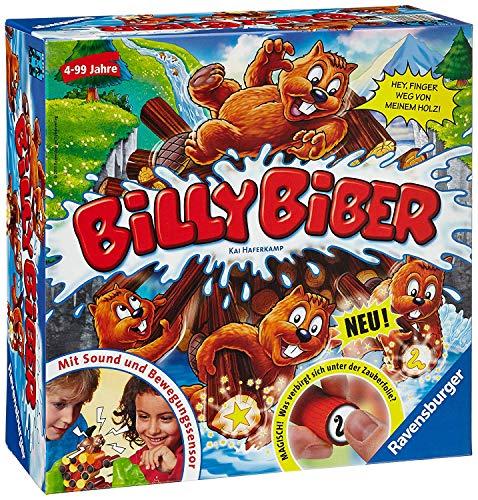 Ravensburger 22246 Billy Biber - Geschicklichkeitsspiel für ruhige Hände - Spiel für Kinder ab 4 Jahren,...