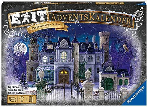 Ravensburger EXIT Adventskalender Das geheimnisvolle Schloss - Ideal für Escape Room-Fans: 24 spannende...