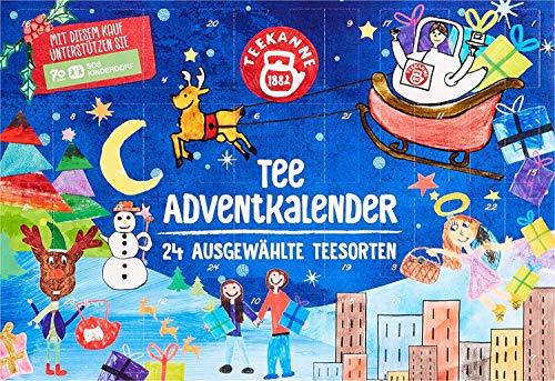 Teekanne Adventskalender Tee, Tee-Adventskalender (375g)