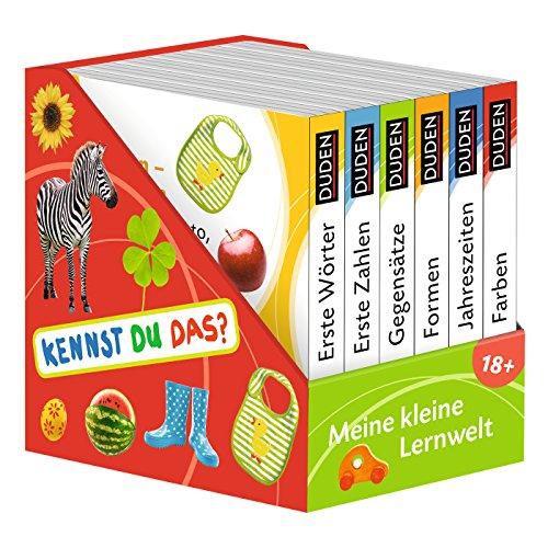 Kennst du das? Meine kleine Lernwelt: ab 18 Monaten (DUDEN Pappbilderbücher Kennst Du das?): 6 Mini-Bücher...