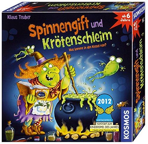 KOSMOS 698652 - Spinnengift und Krötenschleim: Was kommt in den Kessel rein? lustiges Merkspiel für 2 - 4...