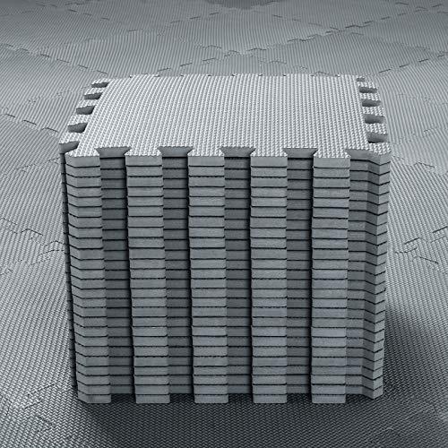qqpp 25 Puzzle Bodenschutzmatte - Schutzmatte Set Puzzlematte Bodenschutz rutschfest Matte   Fitnessmatte...