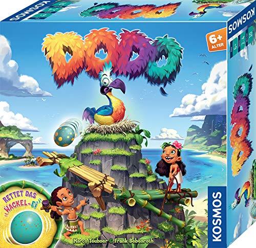 Kosmos 697945 Dodo - Rettet das Wackel-Ei, rasantes Brettspiel für Kinder ab 6 Jahre, für 2 - 4 Personen,...