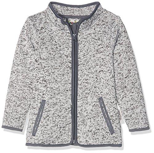 Playshoes Kinder-Jacke aus Fleece, atmungsaktives und hochwertiges Jäckchen mit Reißverschluss, grau, 5-6...