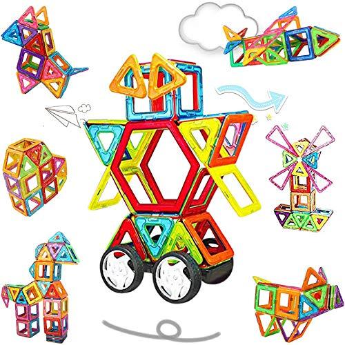 NextX Magnetische Bausteine Magnetspiel Set Pädagogische Bauklötze Spielzeug Geschenk für Kinder...