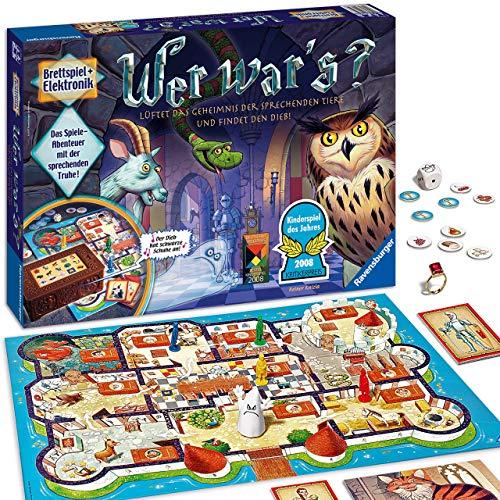 Ravensburger Kinderspiel Wer war's, Gesellschafts- und Familienspiel, für Kinder und Erwachsene, Kinderspiel...