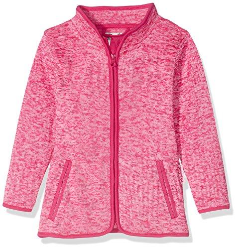 Playshoes Kinder-Jacke aus Fleece, atmungsaktives und hochwertiges Jäckchen mit Reißverschluss, pink, 12-18...