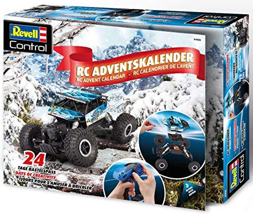 Revell 1026 Adventskalender RC Crawler, mit Fernsteuerung und Batterien in 24 Tagen zum selbstgebauten,...