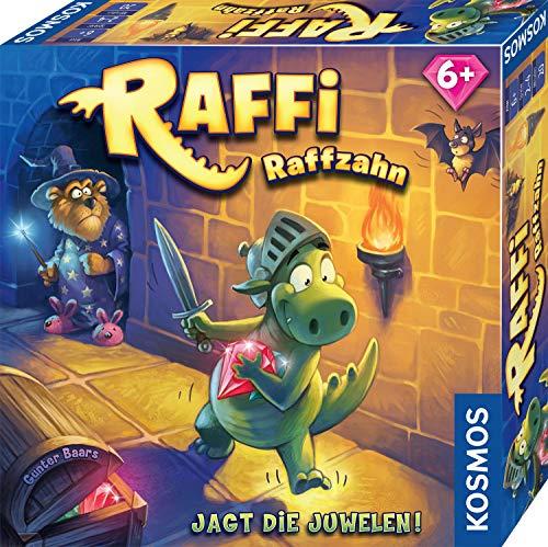 Kosmos 681036 Raffi Raffzahn - Jagt die Juwelen. Spannendes Kinder-Spiel mit magnetischer Drachen-Figur,...