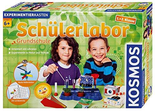 KOSMOS 634315 - Schülerlabor Grundschule 1. und 2. Klasse, Experimente zu Natur und Technik, am Lehrplan der...
