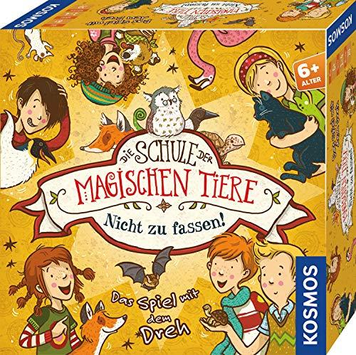 KOSMOS 697679 Die Schule der magischen Tiere Nicht zu fassen, Das Spiel mit dem Dreh, Kinderspiel ab 6 Jahren...