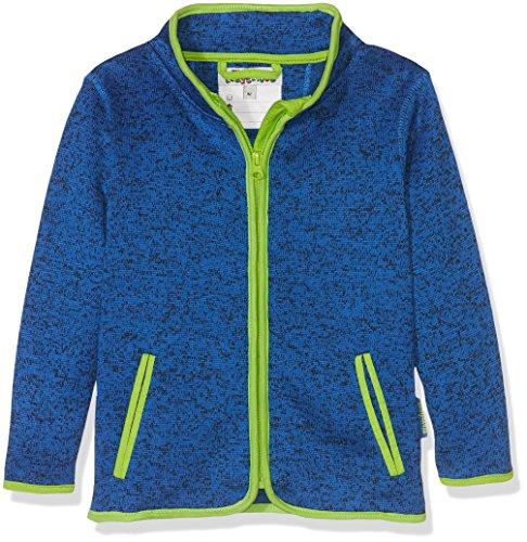 Playshoes Kinder-Jacke aus Fleece, atmungsaktives und hochwertiges Jäckchen mit Reißverschluss, blau, 3-4...