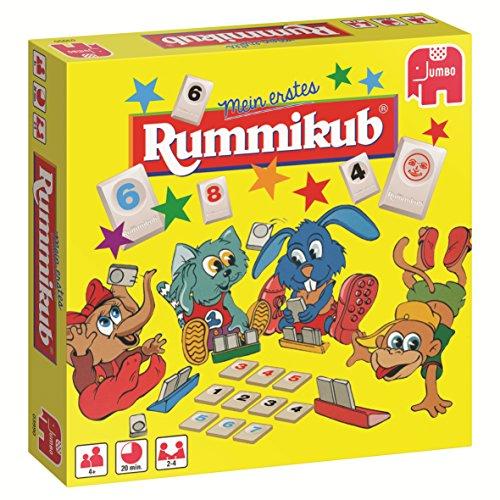 Jumbo JUM03990 Original erstes Rummikub Kinderspiel, Gesellschaftsspiel, Ab 4 Jahren