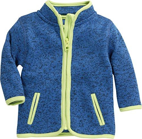 Schnizler Unisex Baby-Jacke aus Fleece, atmungsaktives und hochwertiges Jäckchen mit Reißverschluss, Blau...