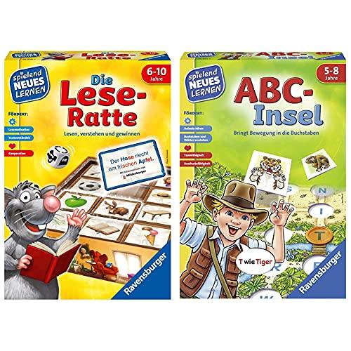 Ravensburger 24956 - Die Lese-Ratte - Spielen und Lernen für Kinder, Lernspiel für Kinder ab 6-10 Jahren &...
