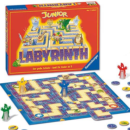 Ravensburger 21210 - Junior Labyrinth - Familienklassiker für die Kleinen, Spiel für Kinder ab 5 Jahren -...
