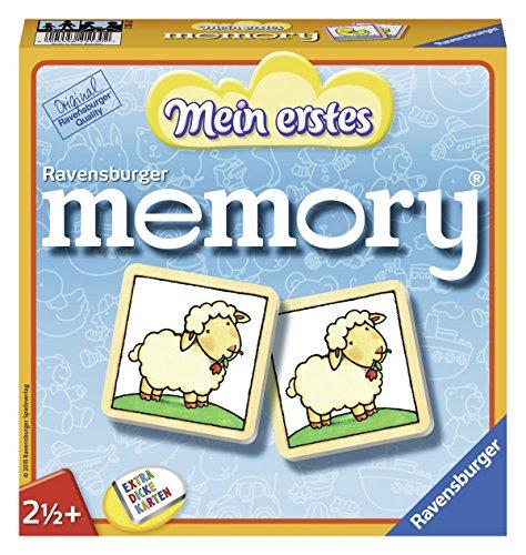 Ravensburger 21130 - Mein erstes Memory - Merk- und Suchspiel für die Kleinen - Spiele für Kinder ab 3...
