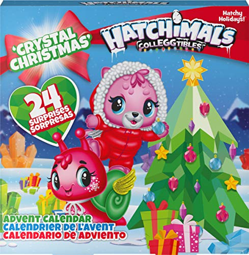 Hatchimals CollEGGtibles Crystal Christmas - Adventskalender mit 15 exklusiven Sammelfiguren und mehr als 24...
