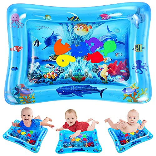 VATOS Wassermatte Baby, Baby Spielzeuge 3 6 9 Monate, Baby Wassermatte ist Perfektes Sensorisches Spielzeug...
