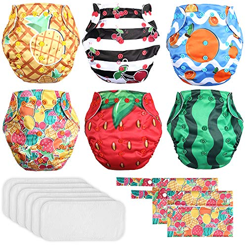 Lictin Baby Windelhose Windeln Trainerhosen Kinder Wiederverwendbar Wasserdicht Training Unterwäsche...