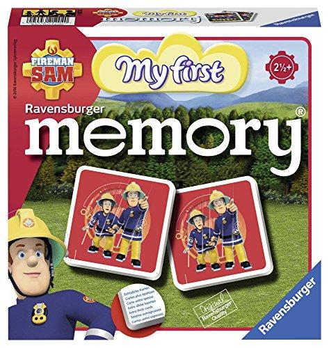Ravensburger Kinderspiele - 21204 Feuerwehrmann Sam memory - Feuerwehrmann Sam Spielzeug ab 2 Jahren